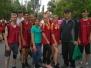 Участь учнів ДНЗ «Маріупольський центр ПТО» в міській легкоатлетичній естафеті
